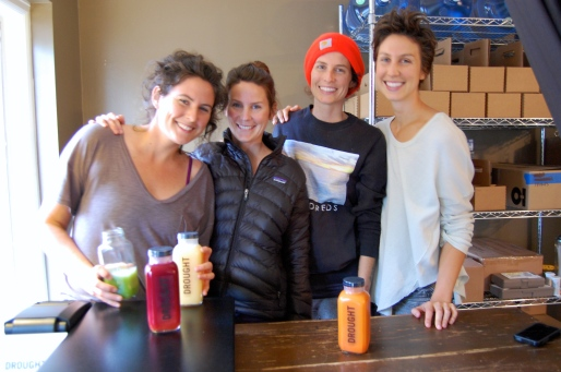 Interview With :    Julie, Caitlin, Jessie, Jenny and Jane James , Drought Juice in Plymouth, Mich