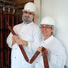 meet christin and scott: milwaukee salami masters