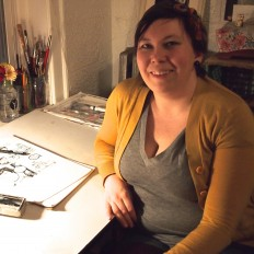meet rachel: chicago cartoonist and illustrator